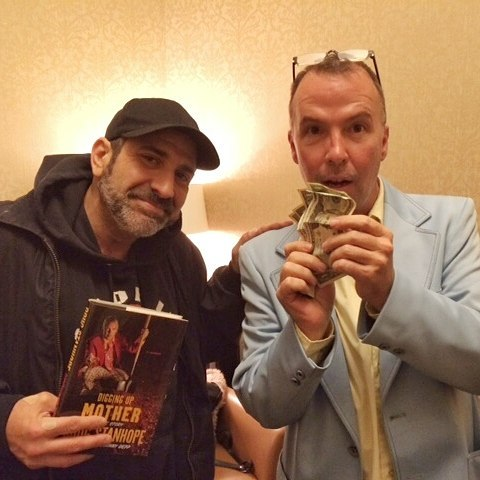 Backstage  the realstanhope book signing I bought one!! Checkhellip