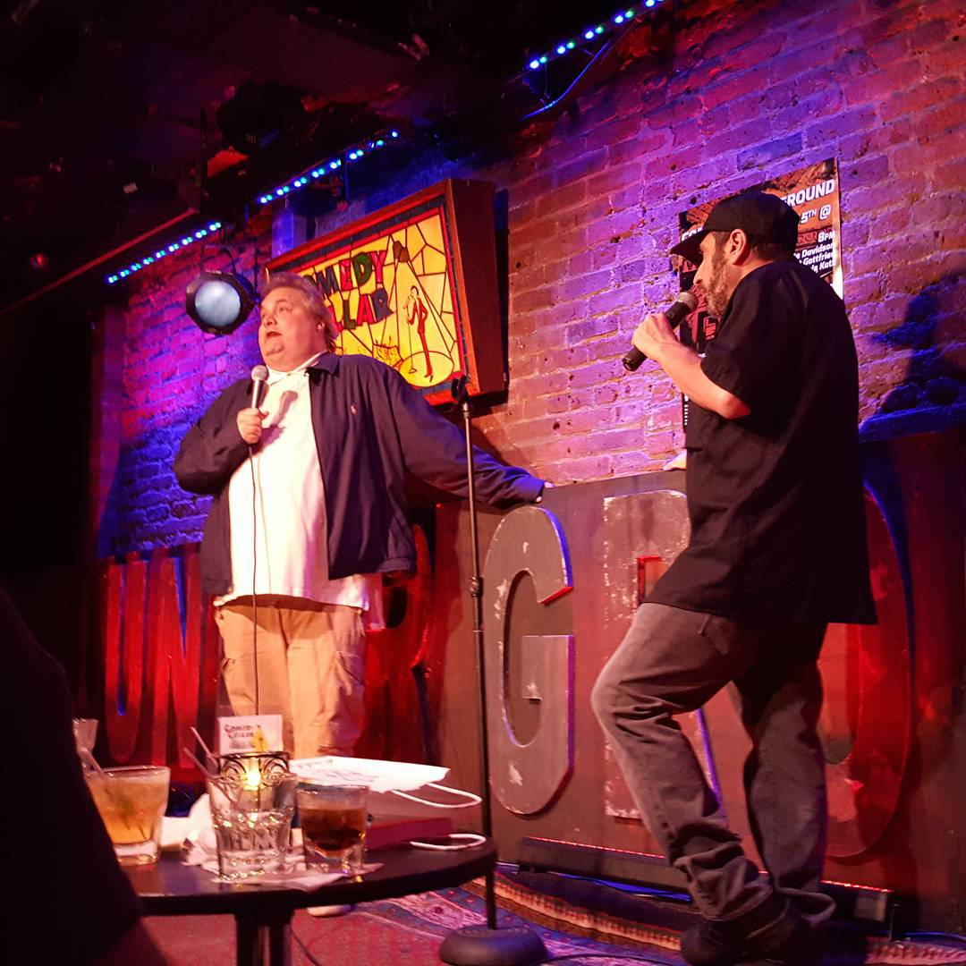 My best friend in comedy artiequitter  dropping in forhellip