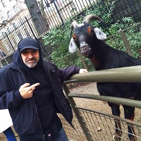 Two old goats! I guess birthday wishes do come truehellip