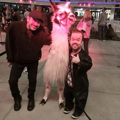 The llama crushed it! Next stop Netflix! bradwilliamscomic crapshootcomedy
